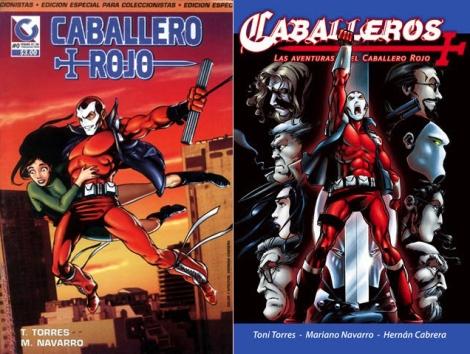 Día de la Historieta Argentina Caballero-rojo