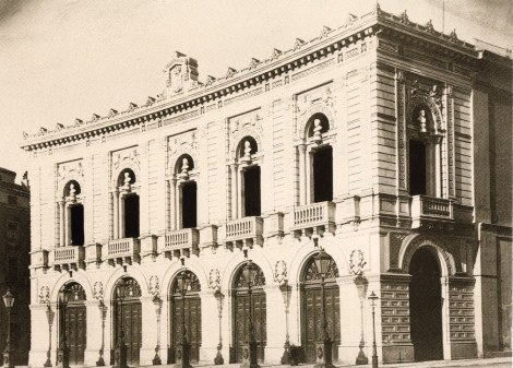 teatro real madrid 1898