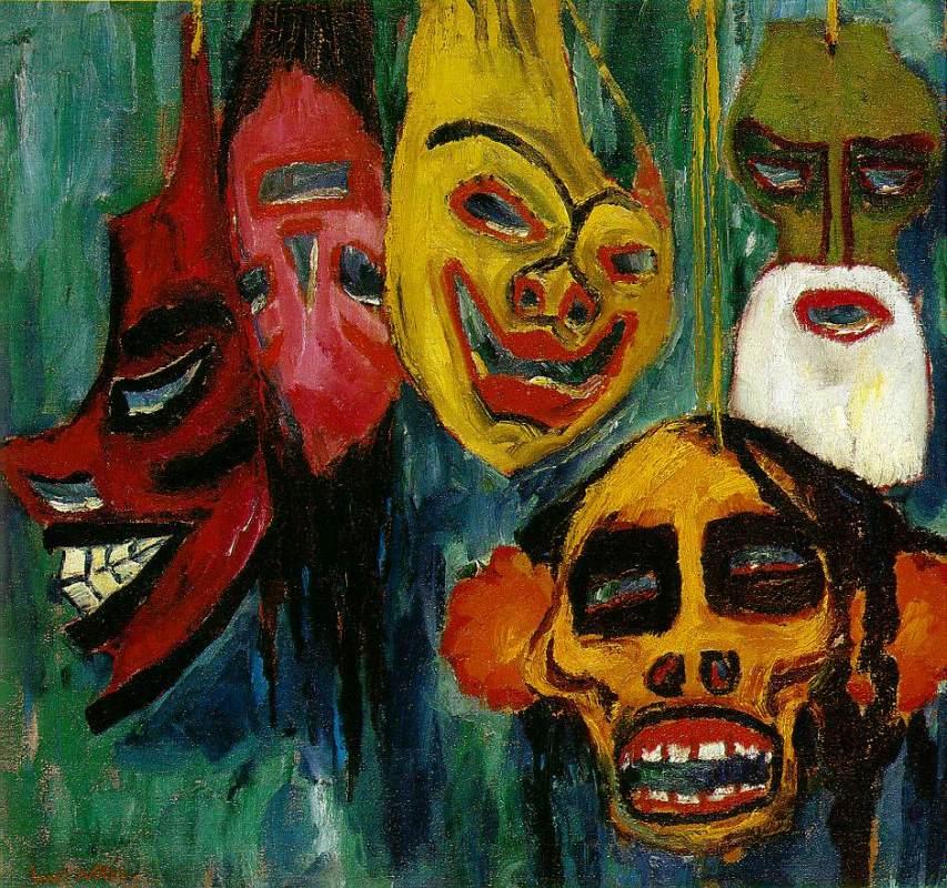 mascaras-vida-cotidiana-iii-1911-emil-nolde
