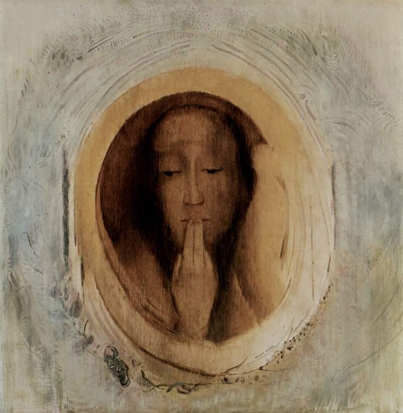 odilon_redon_le_silence-1900